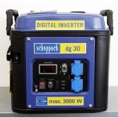 Scheppach DG 30 Inverteres áramfejlesztő   Ár: 149.990.-Újszerű állapotban!